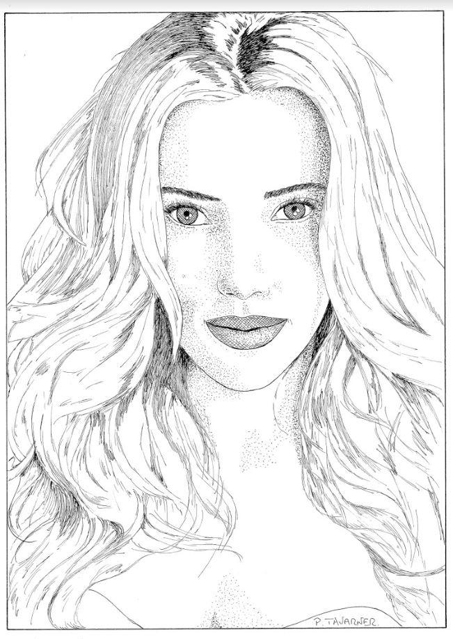 Scarlett Johansson by P.Tavarner